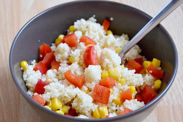 Snacks für die Uni, Couscous-Salat - Carotellstheworld
