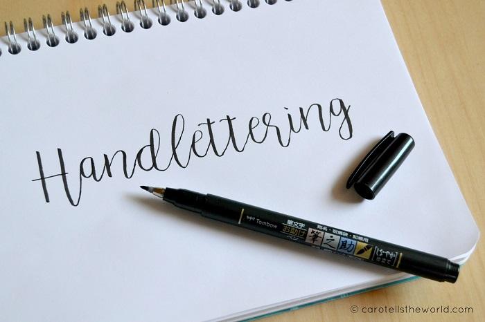Handlettering - Carotellstheworld