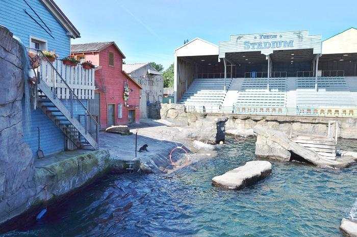 Erlebnis Zoo Hannover, Yukon Stadium - Carotellstheworld