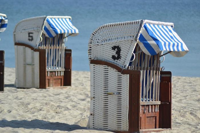 Timmendorfer Strand, Strandkörbe - Carotellstheworld
