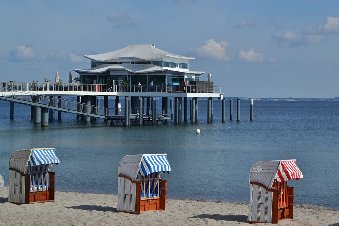 Timmendorfer Strand, Café Wolkenlos 2 - Carotellstheworld