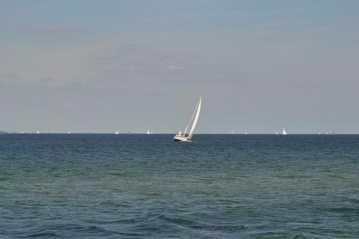 Timmendorfer Strand, Segelboot 2 - Carotellstheworld