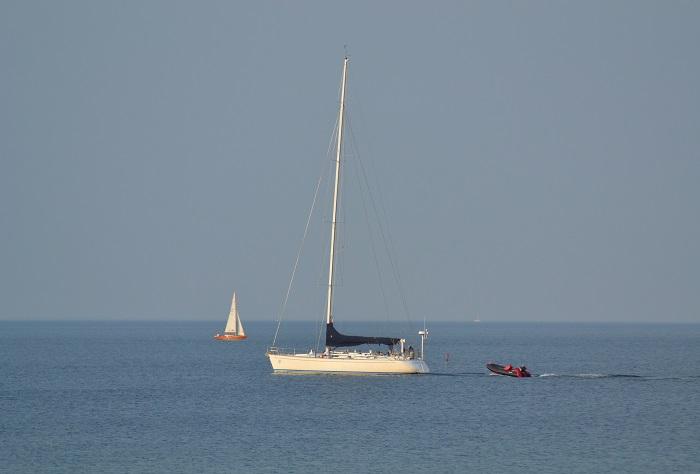 Timmendorfer Strand, Segelboot - Carotellstheworld