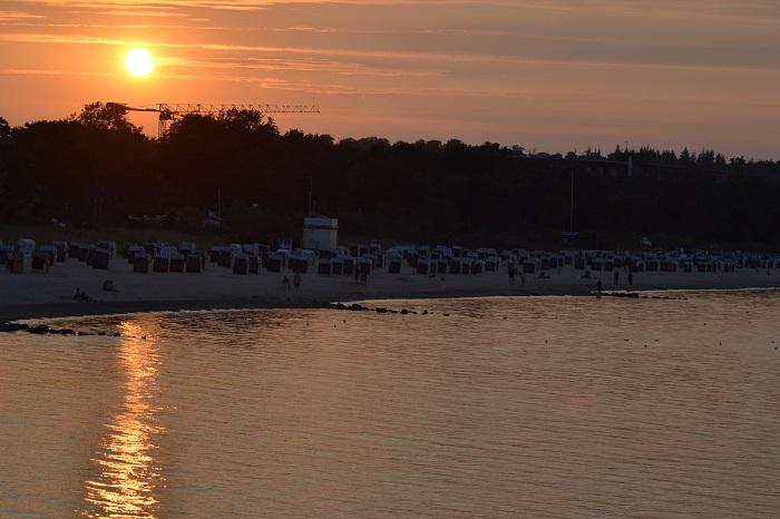 Timmendorfer Strand, Sonnenuntergang - Carotellstheworld